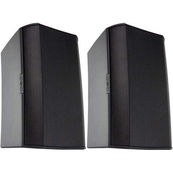 View larger image of QSC AD-S4TB Speaker - Black, Pair