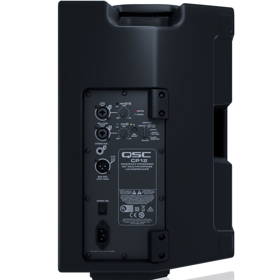 View larger image of QSC CP12 Compact Powered Loudspeaker