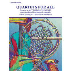 Quartets for All - B Flat Instruments