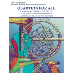 Quartets for All - Piano/Conductor
