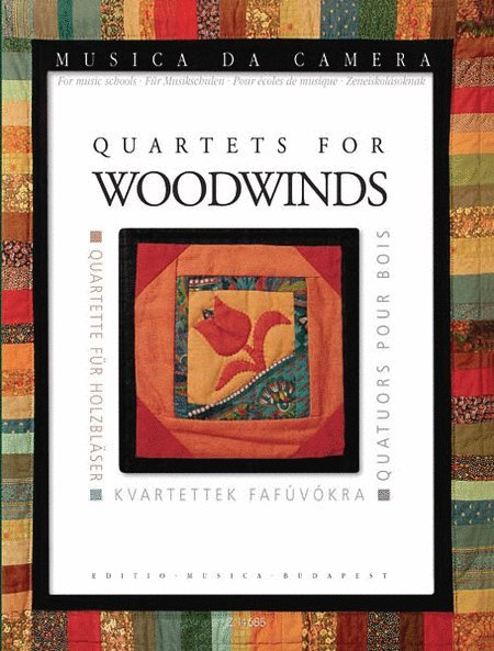 View larger image of Quartets For Woodwinds - Musica da Camera for Music Schools