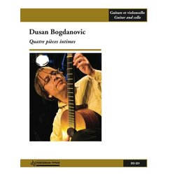 Quatre Pieces Intimes (Bogdanovic) - Guitar & Cello Duet