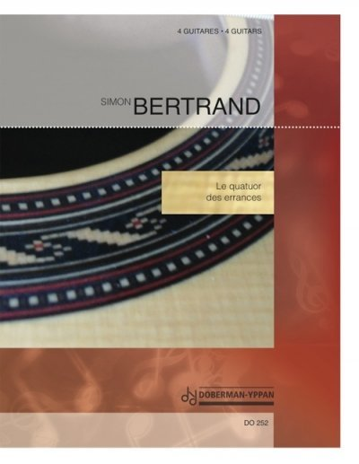 View larger image of Quatuor Des Errances (Bertrand) - Guitar Quartet