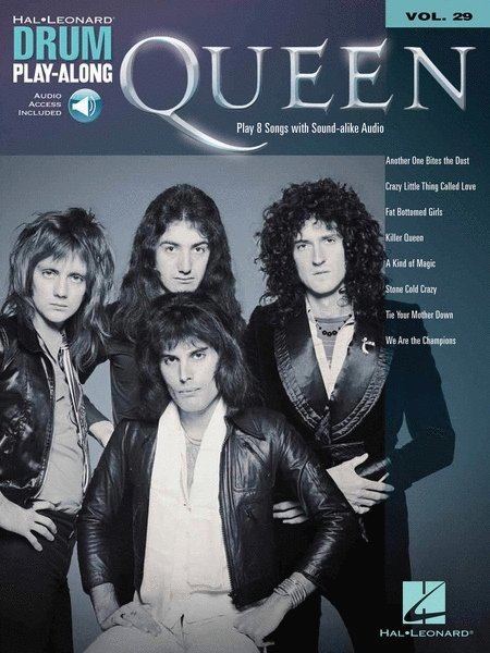 View larger image of Queen - Drum Play Along Volume 29 w/Online Audio
