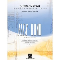 Queen On Stage - Score & Parts Grade 2-3