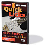 View larger image of Quick Licks - Melodic Shredding (DVD)