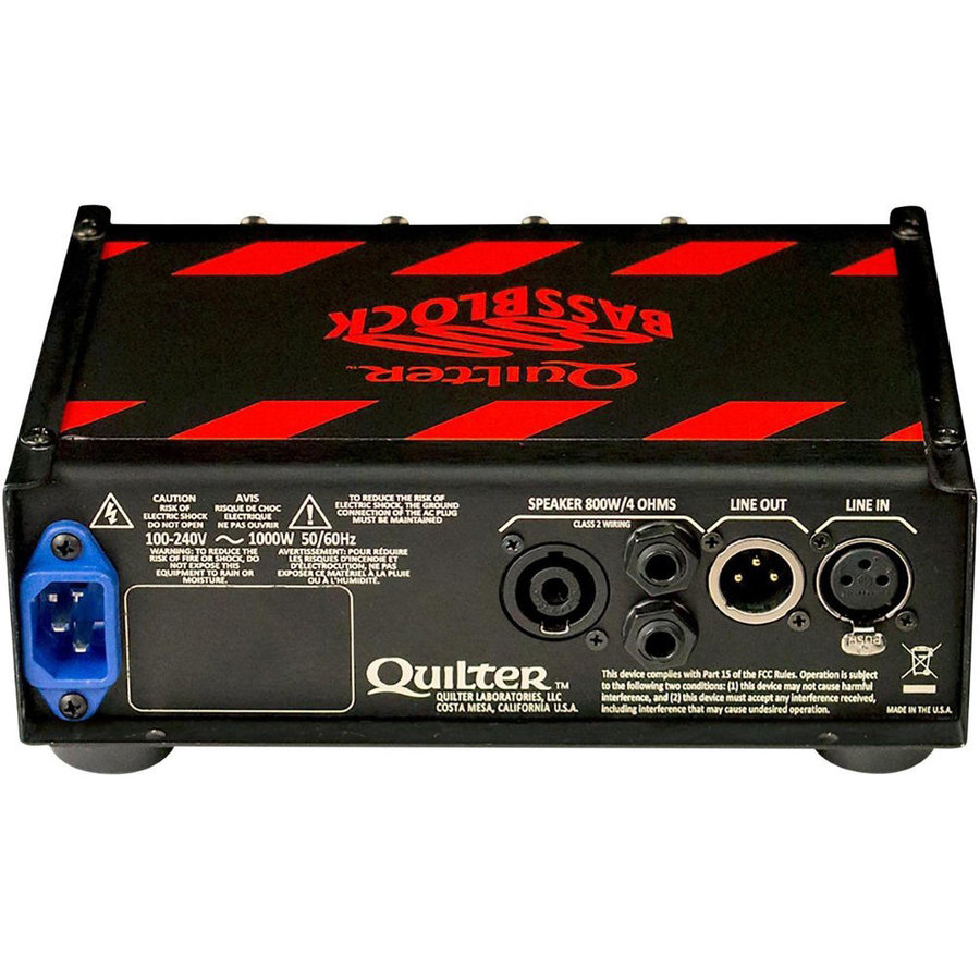 View larger image of Quilter Bass Block 800 Bass Amp Head