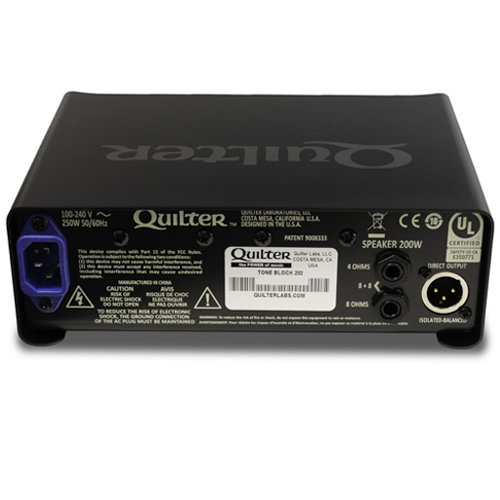View larger image of Quilter Tone Block 202 Guitar Amp Head