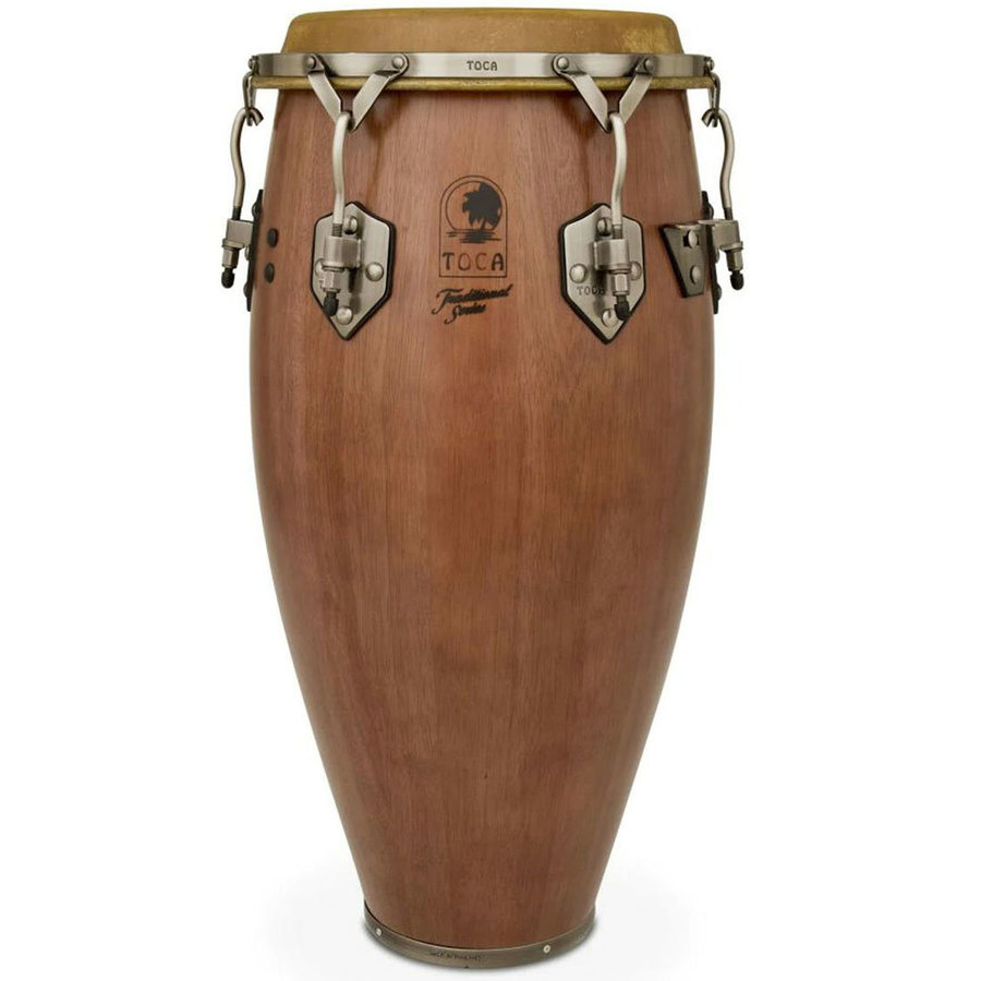 """View larger image of Toca Traditional Quinto Conga Drum - 11"""", Dark Walnut"""