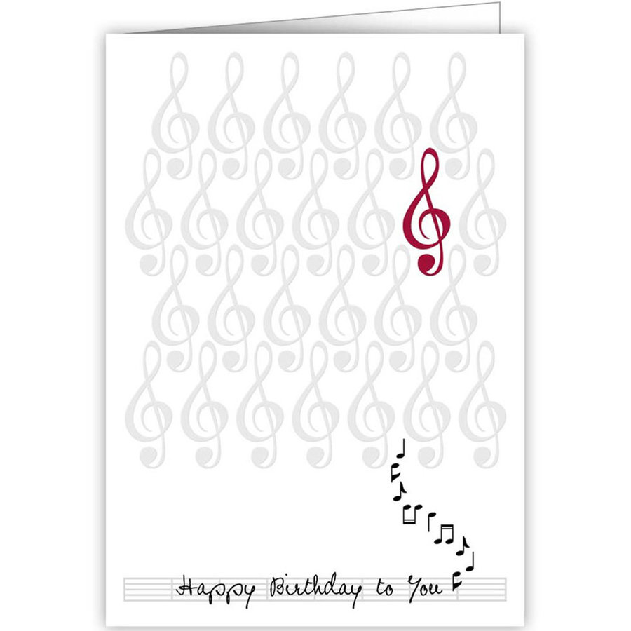 View larger image of Quire Birthday Notes Card