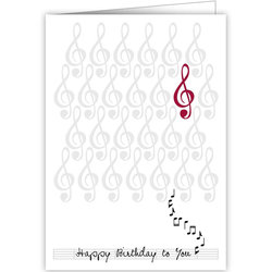 Quire Birthday Notes Card