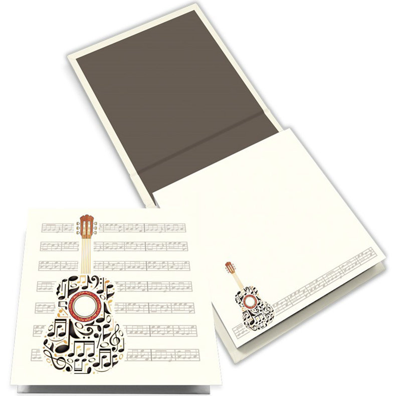 View larger image of Quire Guitar Notes Memo Block