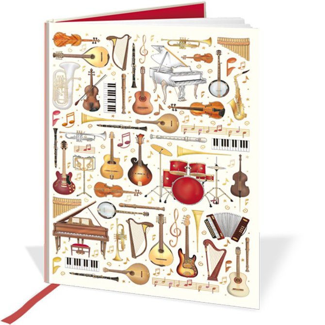 View larger image of Quire Musical Instruments Notebook