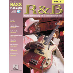 R&B - Bass Play-Along Volume 2 w/Online Audio
