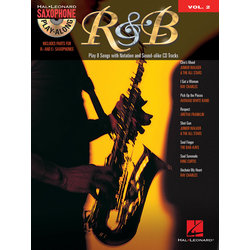 R&B -Saxophone Play-Along Volume 2