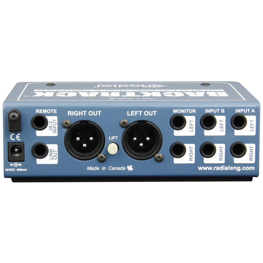 View larger image of Radial Backtrack Stereo Audio Switcher