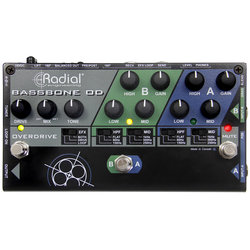 Radial Bassbone OD Bass Preamp and Overdrive