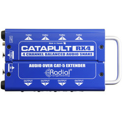 Radial Catapult RX4 Cat 5 Analog Snake