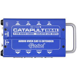 Radial Catapult RX4L Cat 5 Analog Snake