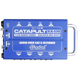 Radial Catapult RX4M Cat 5 Analog Snake