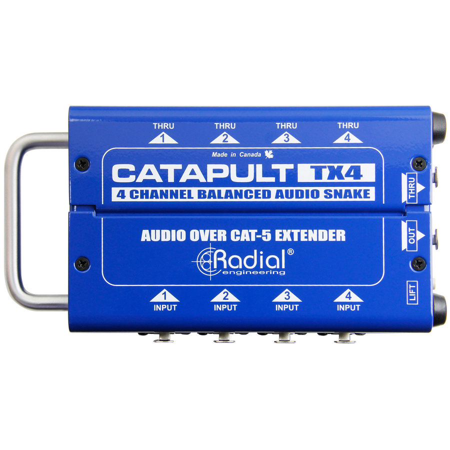 View larger image of Radial Catapult TX4 Cat 5 Analog Snake