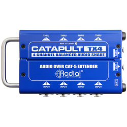 Radial Catapult TX4 Cat 5 Analog Snake