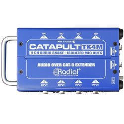 Radial Catapult TX4M Cat 5 Analog Snake