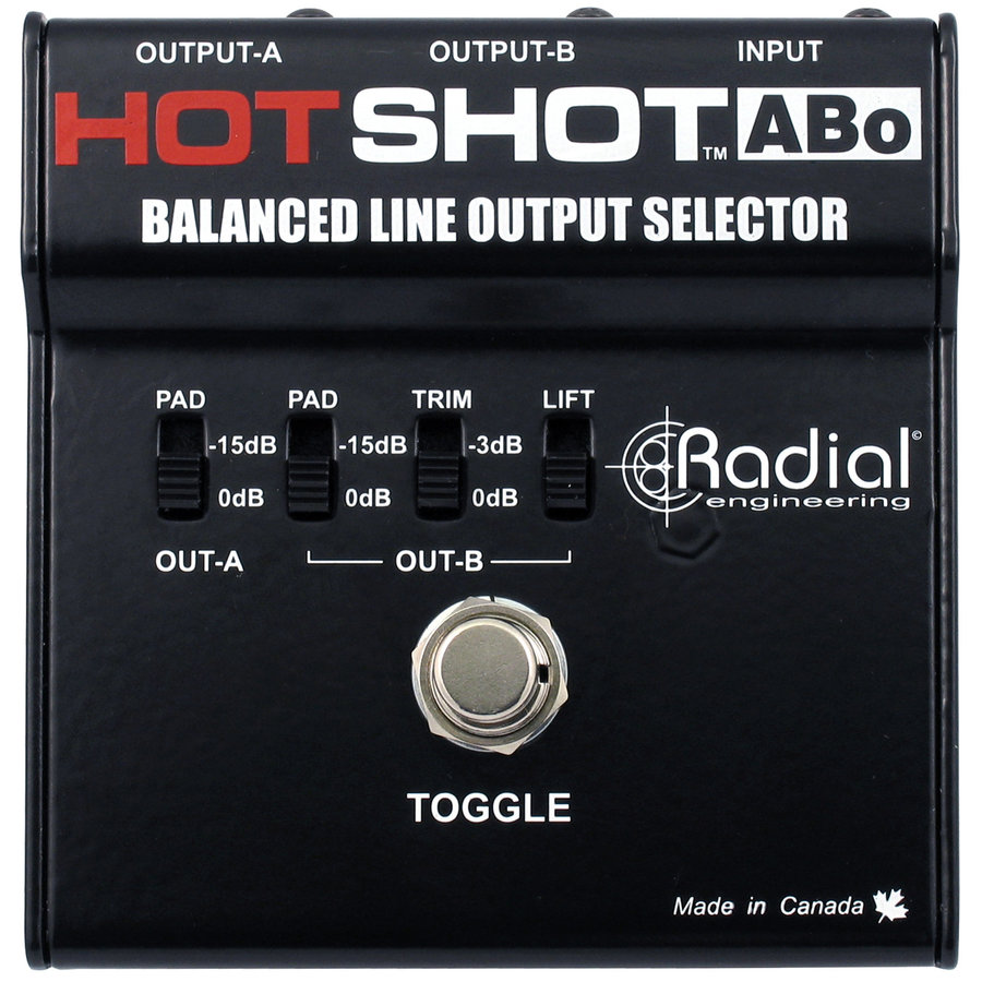 View larger image of Radial HotShot ABo Line Output Selector
