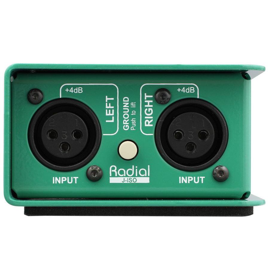 View larger image of Radial J-Iso Stereo +4dB to -10dB Converter