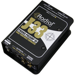 Radial J33 Turntable Preamp and DI Box