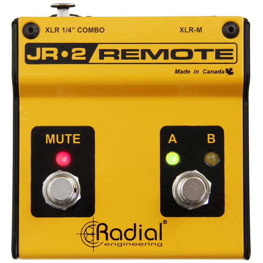 View larger image of Radial JR-2 Dual Footswitch Remote Controller