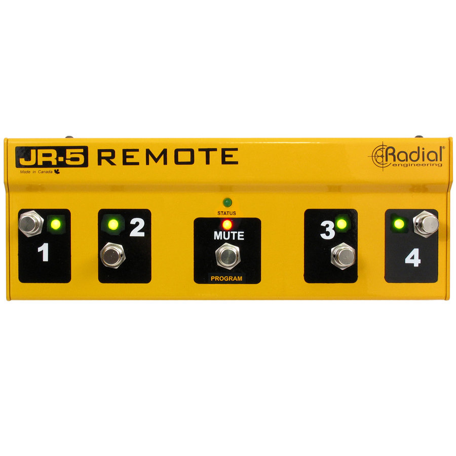 View larger image of Radial JR5 Remote Footswitch Controller for JX44