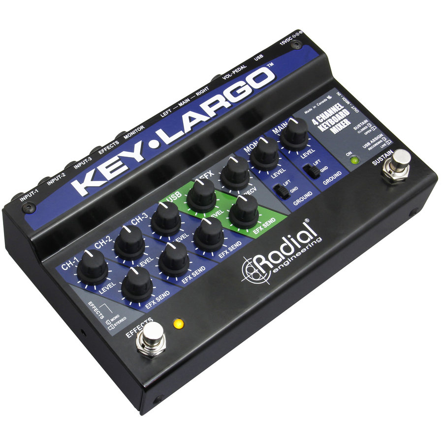 View larger image of Radial Key-Largo Keyboard Mixer