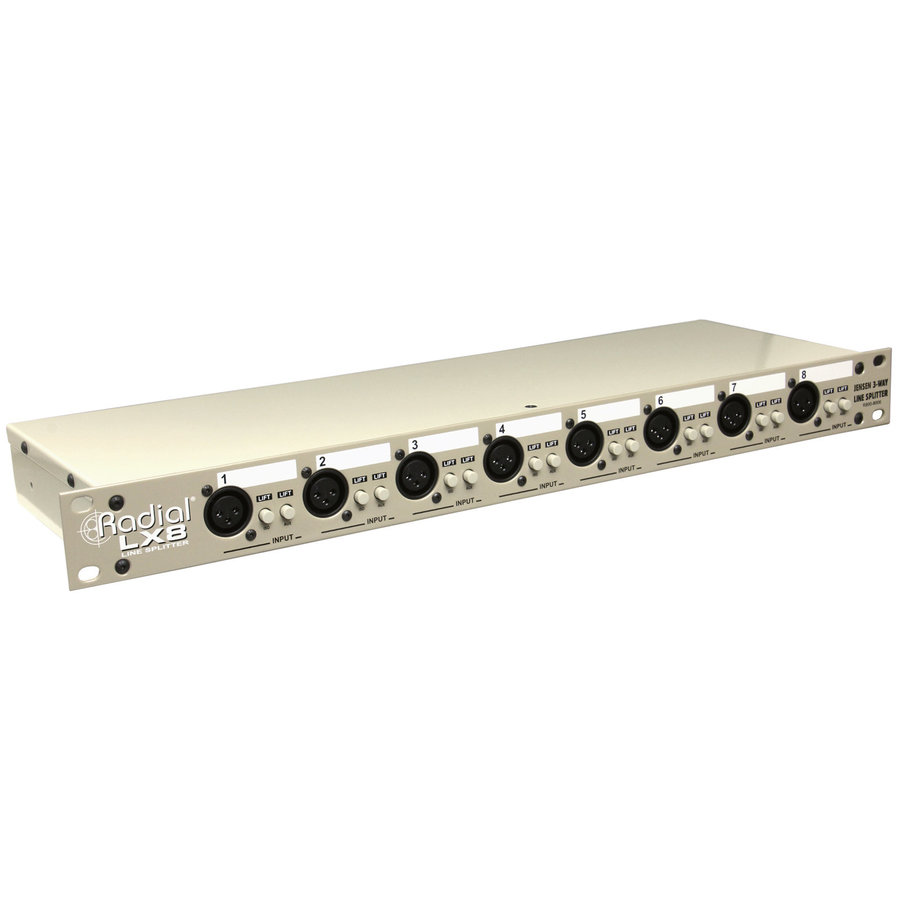 View larger image of Radial LX8 8-Channel Line-Level Splitter