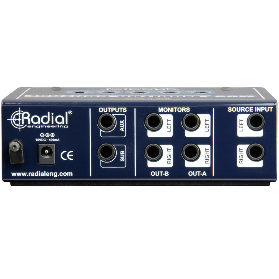 View larger image of Radial MC3 Studio Monitor Controller