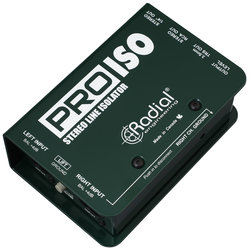 Radial Pro-Iso Stereo +4dB to -10dB Converter