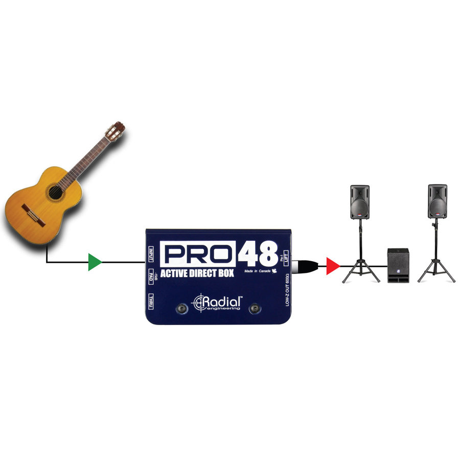 View larger image of Radial Pro48 Active DI Box