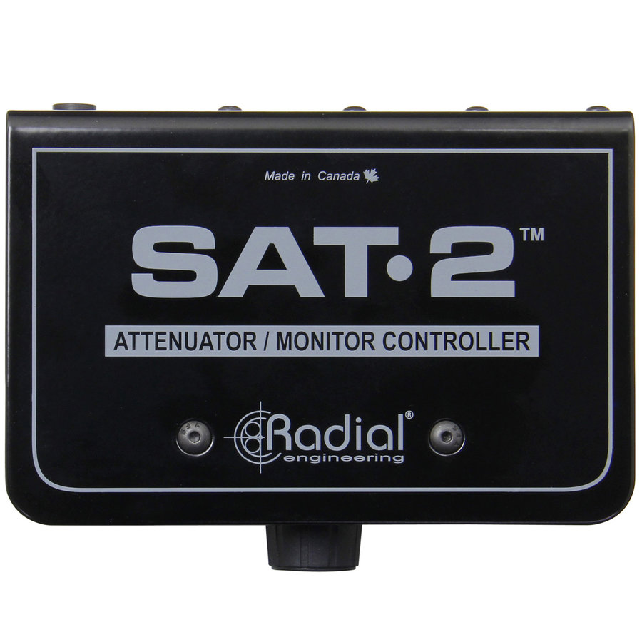 View larger image of Radial SAT-2 Stereo Signal Attenuator