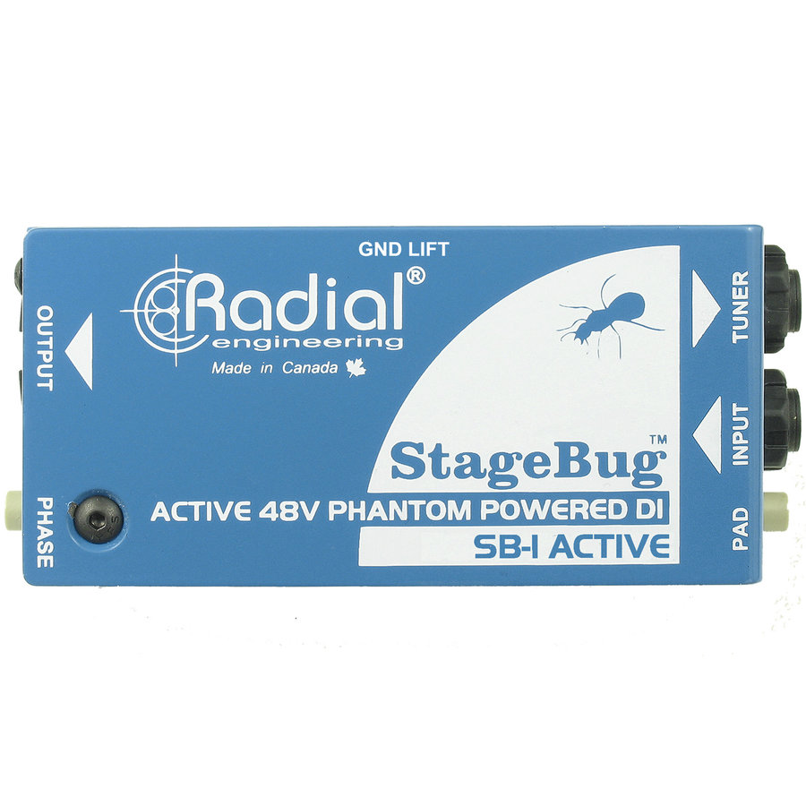 View larger image of Radial StageBug SB-1 Active Acoustic DI