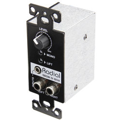 Radial StageBug SB5W Wall-Mounted Stereo DI Box
