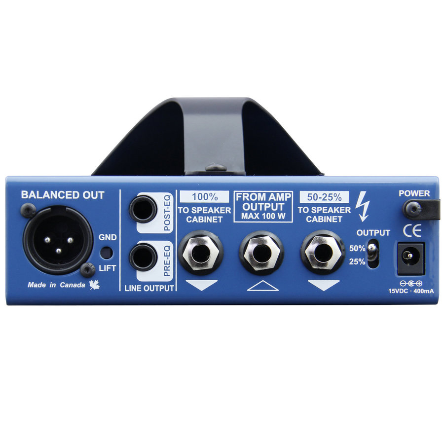 View larger image of Radial Tonebone Headload Prodigy Load Box and DI