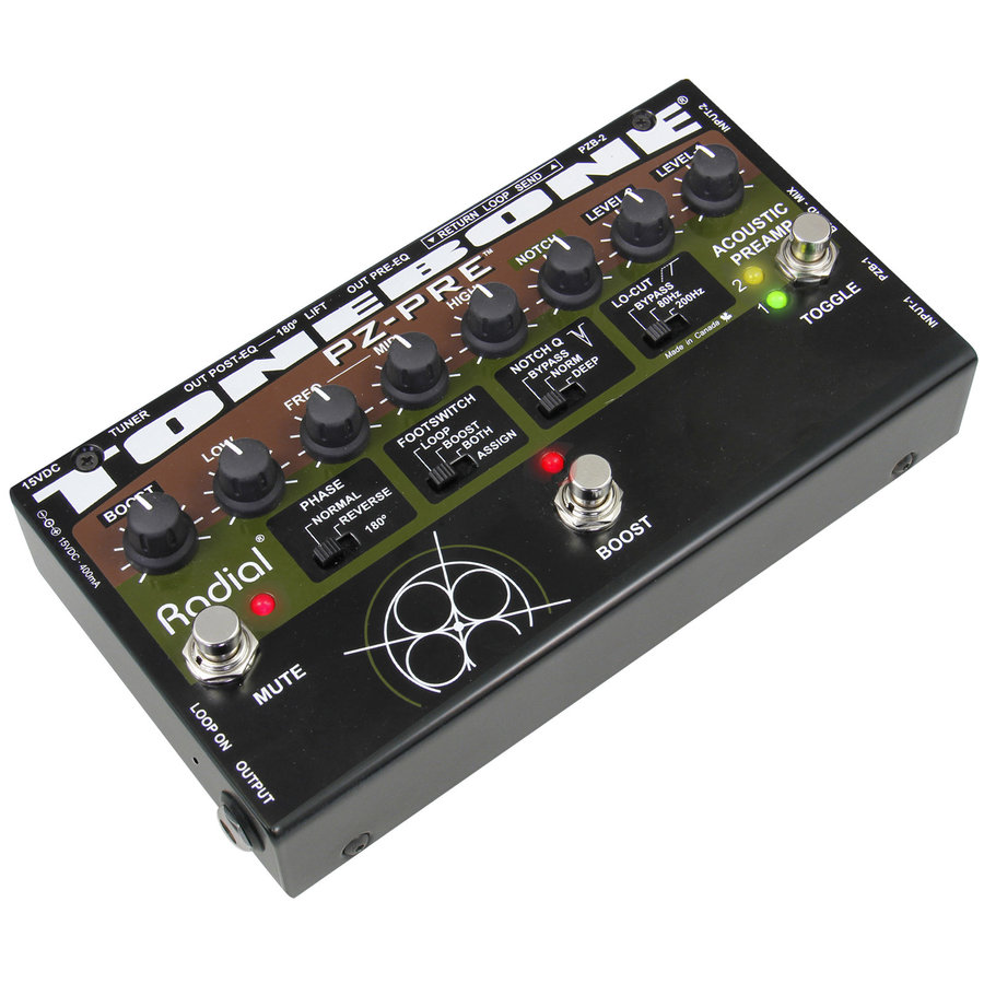 View larger image of Radial Tonebone PZ-Pre Acoustic Preamp
