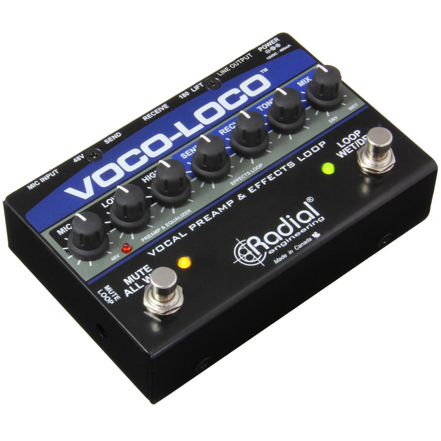 View larger image of Radial Voco-Loco Effects Switcher for Voice or Instrument