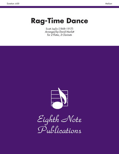 View larger image of Rag Time Dance - (Woodwind Quartet) - Score Only