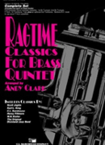 View larger image of Ragtime Classics for Brass Quintet - Score and Parts