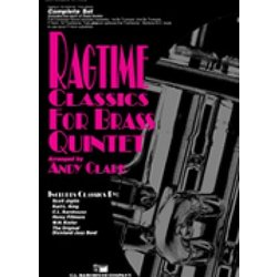 Ragtime Classics for Brass Quintet - Score and Parts
