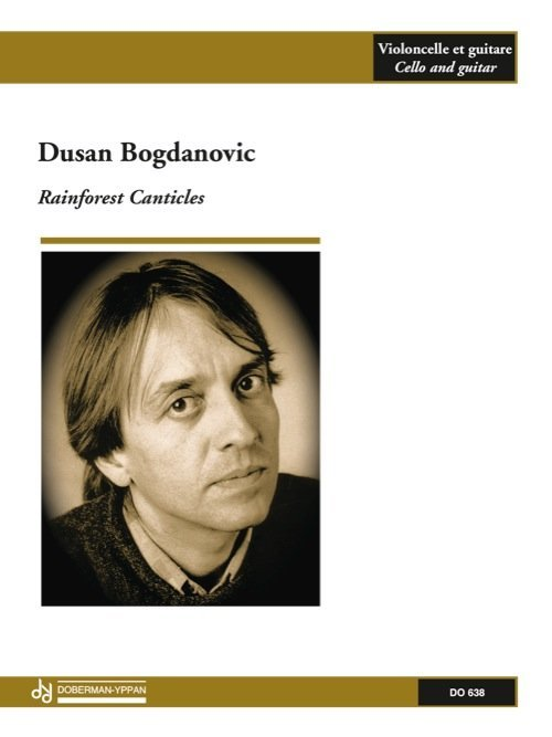 View larger image of Rainforest Canticle (Bogdanovic) - Guitar & Cello Duet