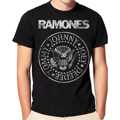 View larger image of Ramones Distressed Seal T-Shirt - Men's Small