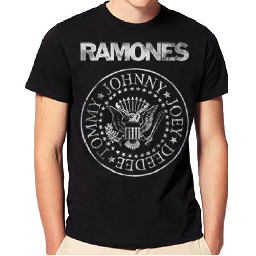 View larger image of Ramones Distressed Seal T-Shirt - XL