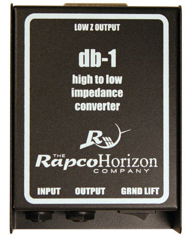 View larger image of Rapco DB-1 Passive Direct Box